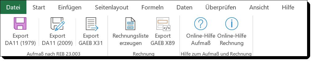 Gaeb Ausschreibungen Einfach Mit Excel Und Word Bearbeiten